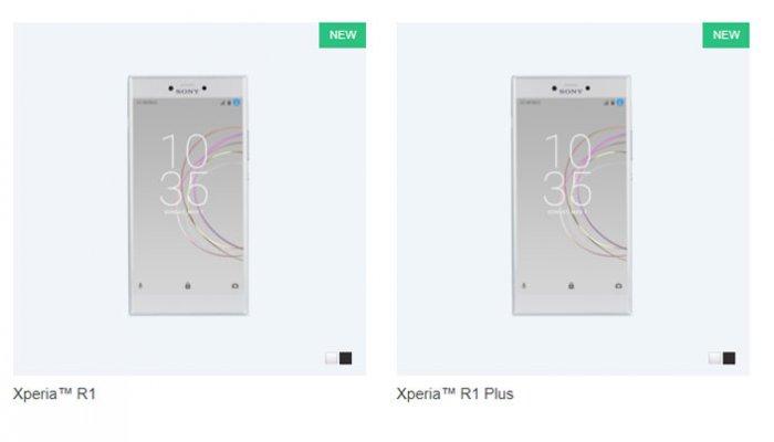 Sony Rilis Xperia R1 dan R1 Plus Untuk Pasar India