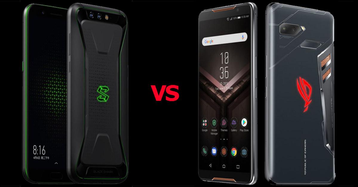 ASUS ROG Phone Vs Xiaomi Black Shark, Lebih Ganas Siapa Ya ?