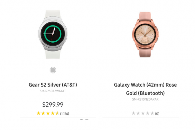 Samsung Pajang Galaxy Watch Generasi Terbaru Di Laman Resmi ?