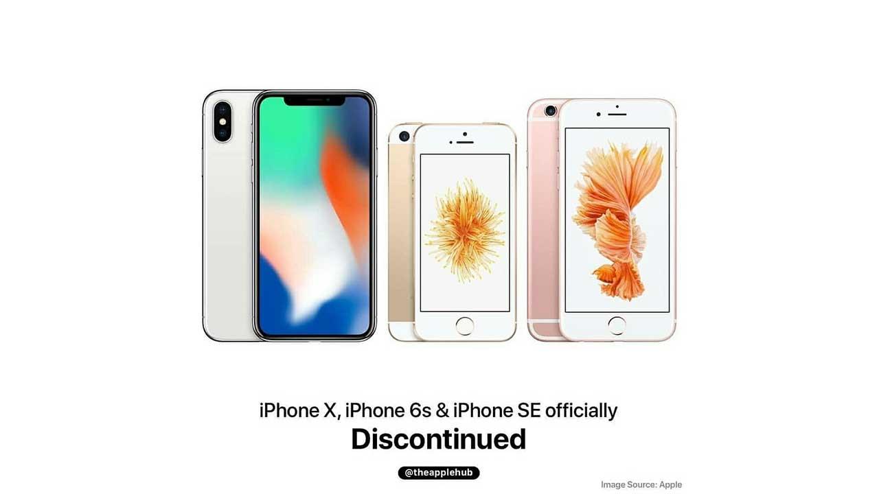 Produksi iPhone X, iPhone 6s Dan iPhone SE Resmi Diberhentikan