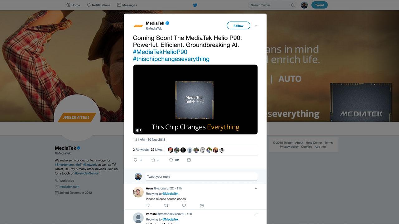MediaTek Garap Chipset Menengah Terbaru P90