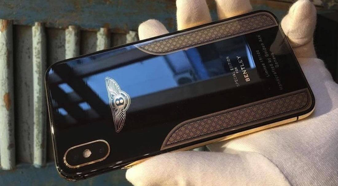 iPhone X Bentley Edition Dengan Harga Selangit !