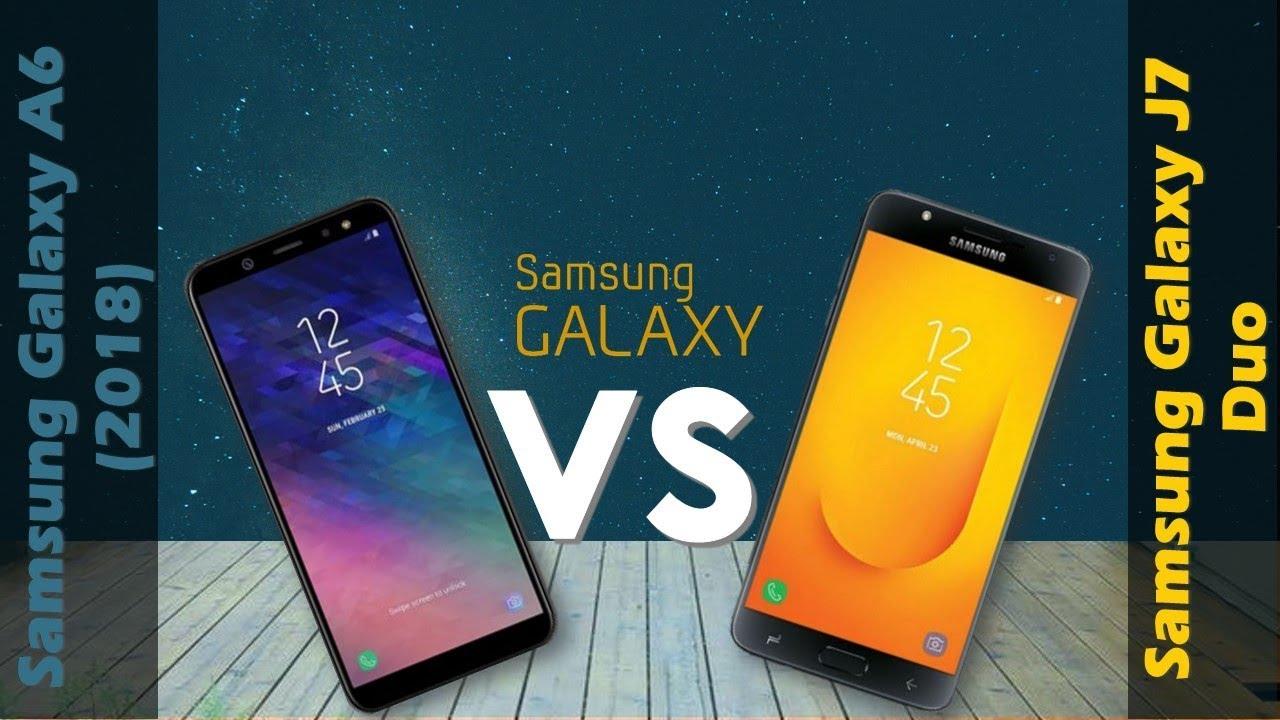 Perbedaan Samsung Galaxy A6 dan Galaxy J7 Duo