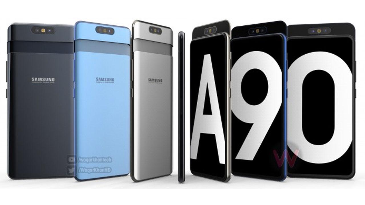 Rumor: Kamera Samsung Galaxy A90 Dapat Berputar ?